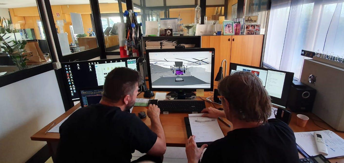 Progettazione CAD allestimento