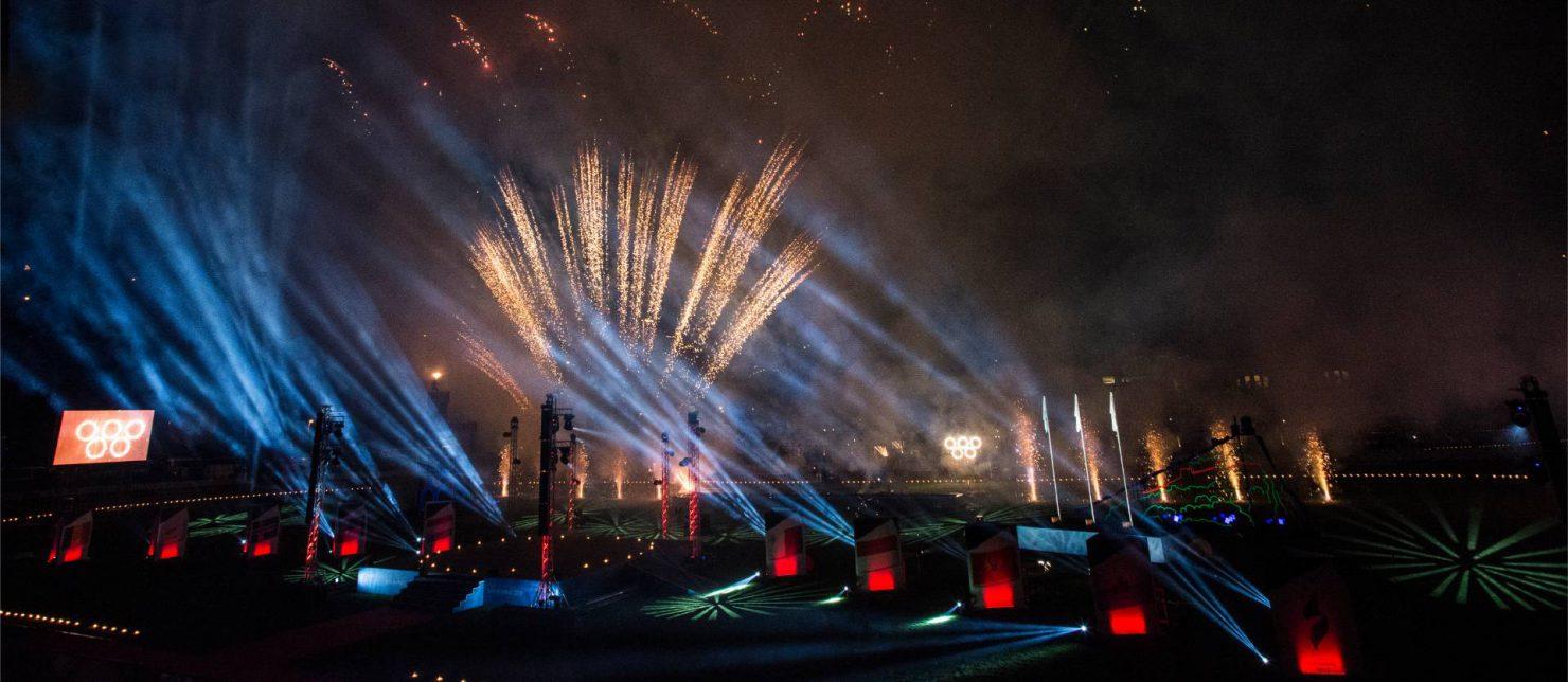Cerimonia di apertura XVIII Giochi dei piccoli stati d'Europa