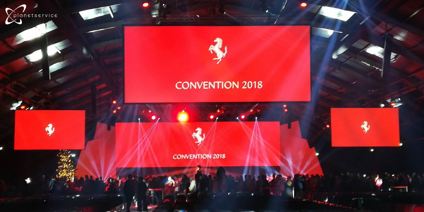 Palco convention Maranello 2018