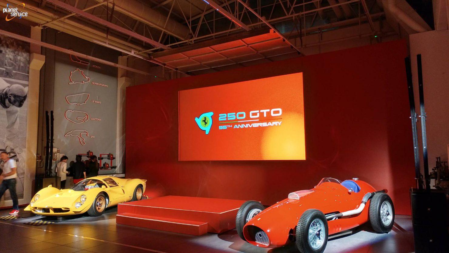 55°anniversario delle Ferrari 250GTO