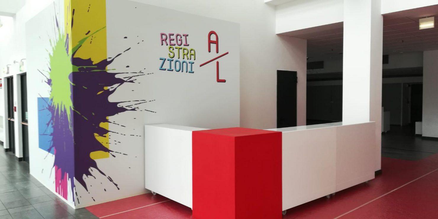 Desk accettazione conferenza Passepartout